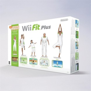 WII FIT PLUS BOARD+GAME