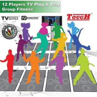 12 PLAYER TV PLUG AND PLAY DDR SYSTEM