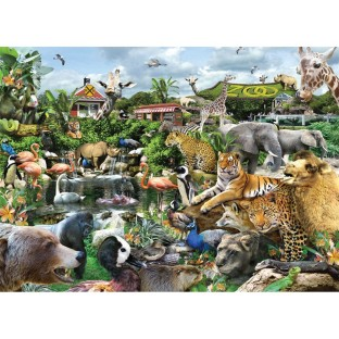 WHAT A ZOO 300PC PUZZLE