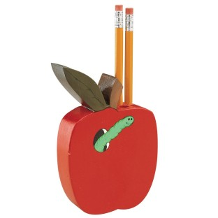 PENCIL HOLDER APPLE