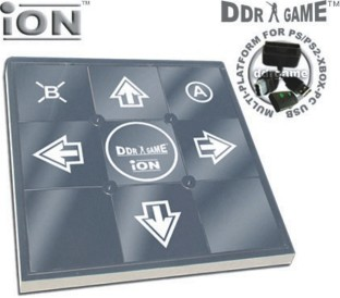 DDR ION METAL DANCE PAD