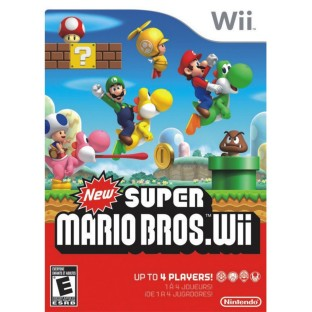 WII SUPER MARIO BROTHERS GAME