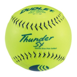 DUDLEY THUNDER SFTBAL YELLOW SY11SP