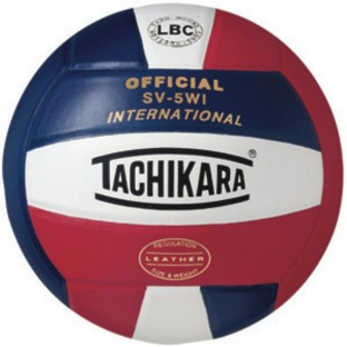 TACHIKARA SV5WI INTERNATIONAL LEATHER VOLLEYBALL