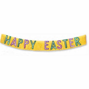 10' Happy Easter Banner