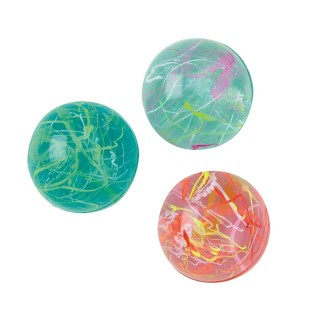 CRYSTAL HI BOUNCE BALL PK12