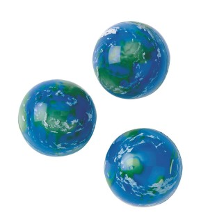 EARTH HI BOUNCE BALL PK12