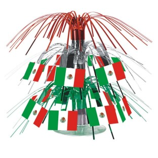 Mexican Flag Cascade Centerpiece