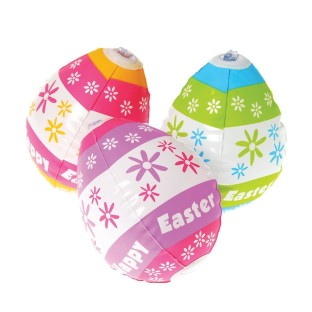 INFLATABLE EASTER EGG PK12