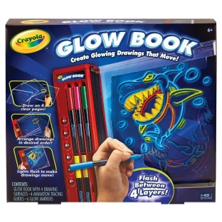 COLOR EXPLOSION GLOW BOOK