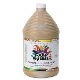 COLOR SPLASH WASH GLITTER PAINT GAL GR