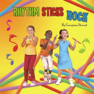 RHYTHM STICKS ROCK  MUSIC CD