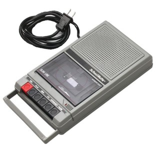 Portable Cassette Recorder Player