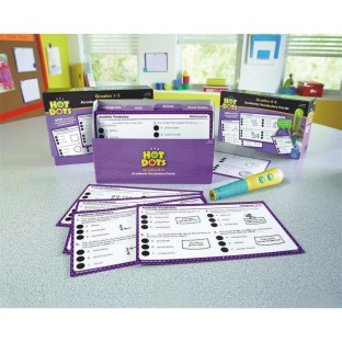 Hot Dots® Academic Vocabulary Card Sets Grades 1–3