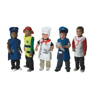 COMMUNITY HELPER TUNICS SET OF 5