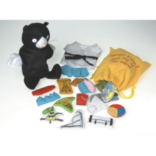 GIVE A CAT A CUPCAKE PUPPET AND PROPS SET