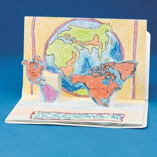 CONTINENTS POPUP BOOKS PK6