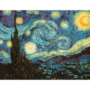 PUZZLE STARRY NIGHT VAN GOGH 24PC