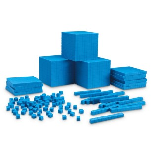Plastic Base Ten Place Value Kit