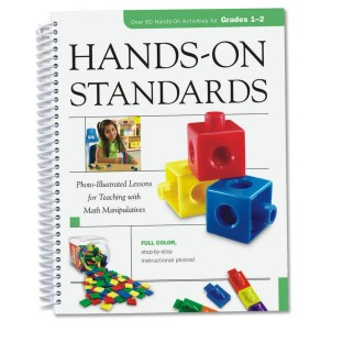 HANDS ON STANDARDS MATH GRADES 1 TO 2 BOOK