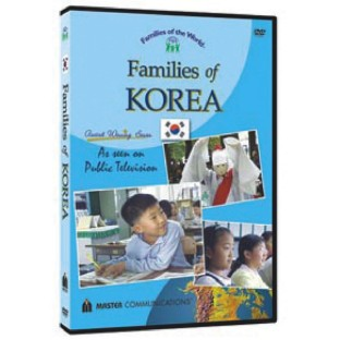 FAMILIES OF THE WORLD DVD KOREA