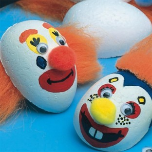 MAGNETS CLOWN FACE PK/24