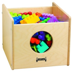 See-n-Wheel Storage Bin