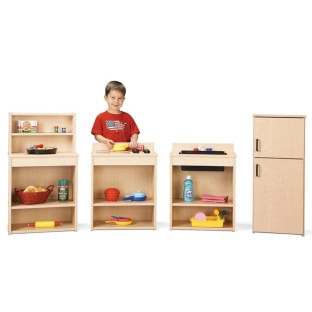 Young Time™ Play Kitchen Set - 4 pcs