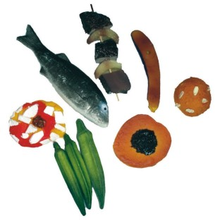 African Play Food Set