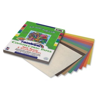 CONSTRUCTION PAPER RAINBOW 6 IN X 9 IN 200 COUNT