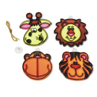 ZOO ANIMAL SUNCATCHERS PK/12