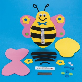 FOAM BEE THERMOMETER PK/12