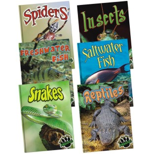 EYE TO EYE WITH ANIMALS BOOK SET OF 6