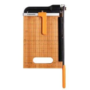 FISKARS 12 IN BAMBOO BYPASS PAPER TRIMMER