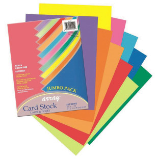 Pacon® Jumbo Card Stock Assortment