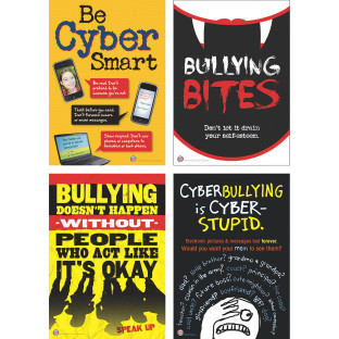 Bully Prevention Bulletin Board Set for Middle School Grades
