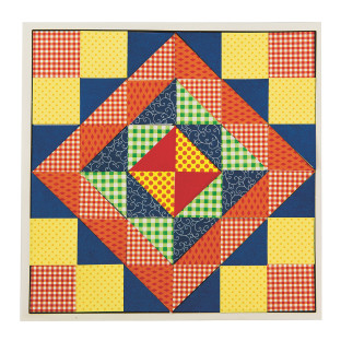 Quilt Square Mosaic Craft Kit