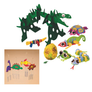DINOSAURS AND CREATURES  EASY PACK