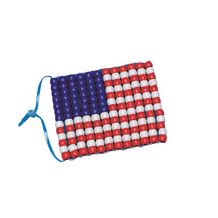 FLAG ORNAMENT PK/12