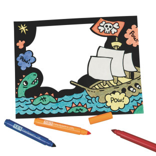 Velvet Pirate Frame Craft Kit