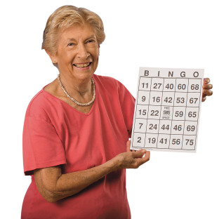 Large-Print Bingo Cards