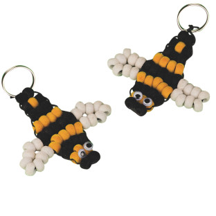 FUZZY BUZZY BEE CRAFT  KIT PK/12
