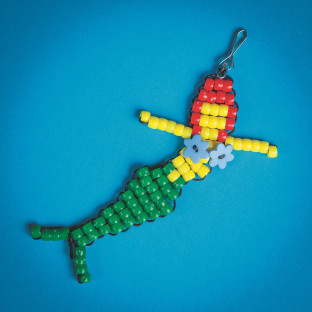 BEADED MERMAID CRAFT KIT PK/24