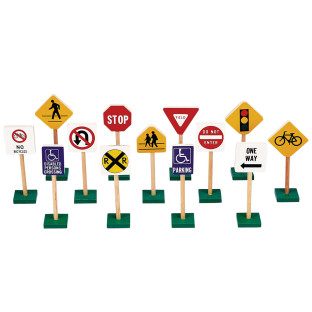 Block Play Traffic Signs