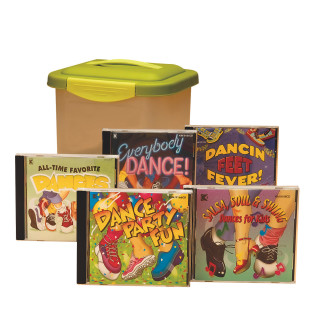 DANCE CD SET OF 5