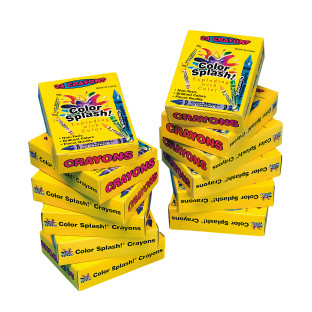 Color Splash!® Crayons Box of 24