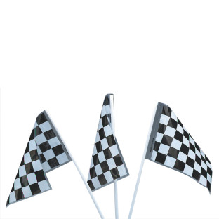 Plastic Racing Flags