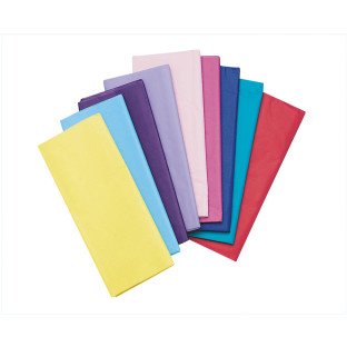 Tissue Paper Assorted Colors