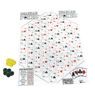 Jumbo Beanbag Poker Game