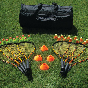 SPEEDMINTON SUPER 8 PLAYER SET
